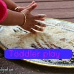 Free play – Baby oatmeal