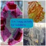Various egg activities for toddlers