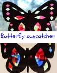 Butterfly suncatcher activity ideas for toddlers
