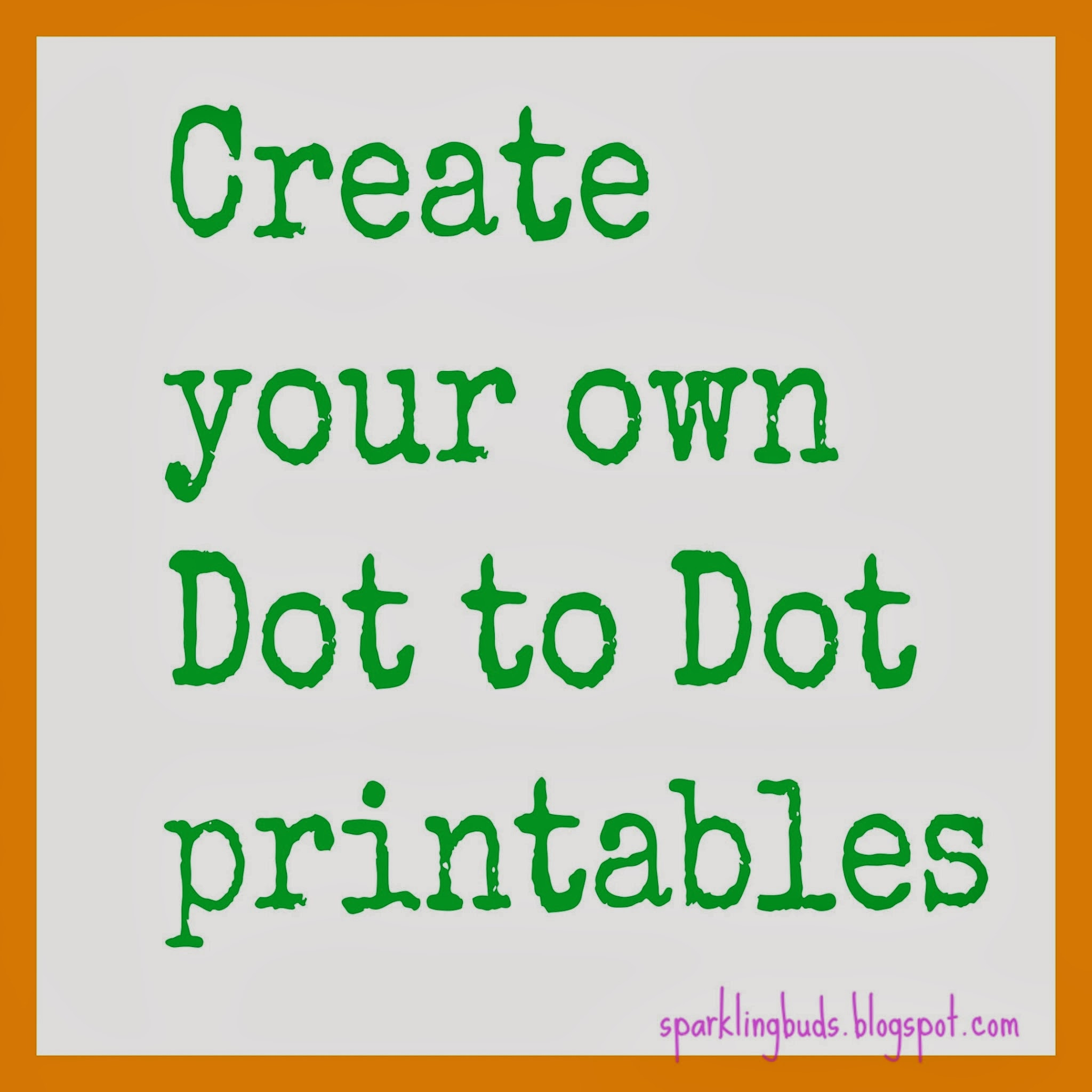 Make your own dot to dot printable using gimp sparklingbuds I want to design my own home online