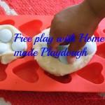 Free play – Home made playdough