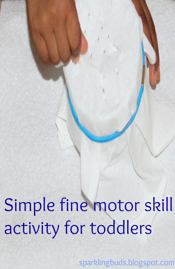 A Simple Fine Motor Skill Activity For Toddlers