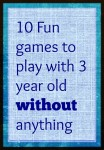 Games to play with 3 year old