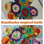 Kandinsky inspired Shamrock batik