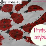 Lady bug painting ideas for kids