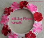 Milk jug flowers craft ideas