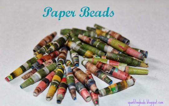 Paper beads ideas