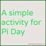 Introduction to Pi – A simple activity for Pi Day