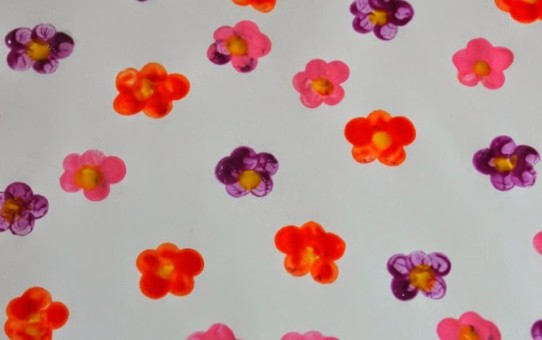 Simple flower painting ideas for kids