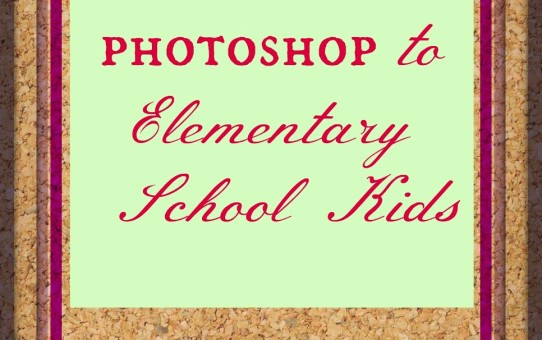 Photoshop tutorial for beginners and kids