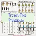 Frozen Movie – Free Printables
