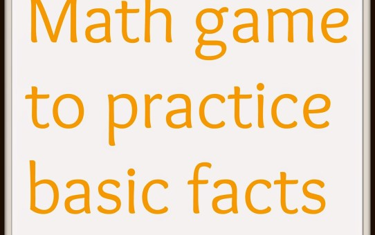 math game for basic facts