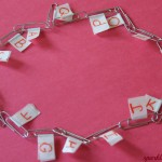 Alphabet necklace – Alphabet learning activity
