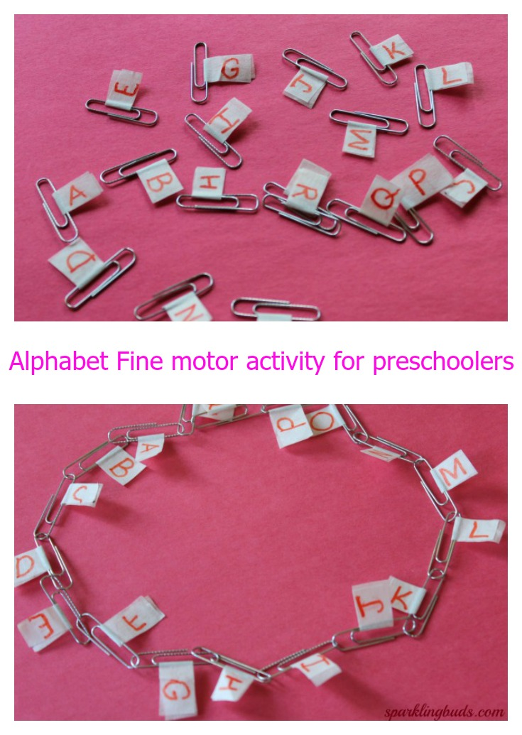 Fine motor activity ideas for preschoolers