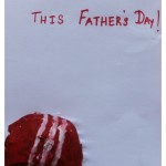 Father's day ball card
