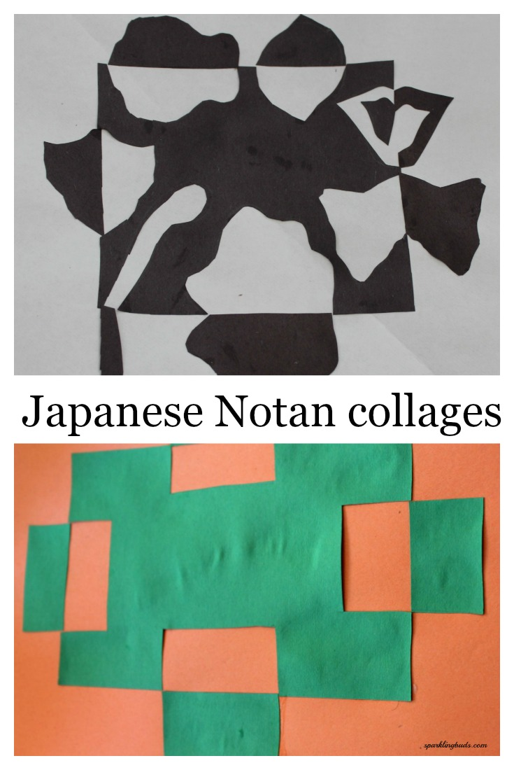 Norta Japanese collage for kids