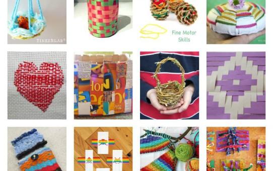 Weaving ideas for kids