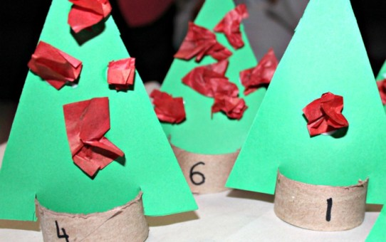 Christmas counting ideas for preschoolers
