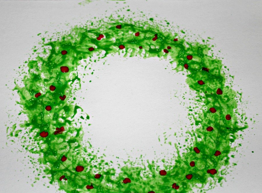 Wreath painting ideas