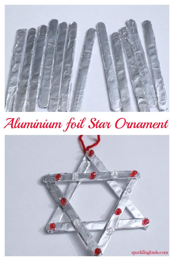 Aluminium foil Christmas Ornaments