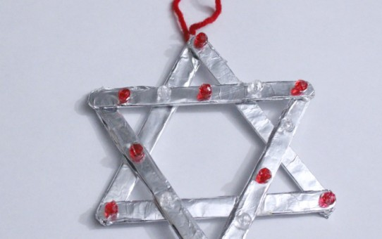 Aluminium foil craft ideas