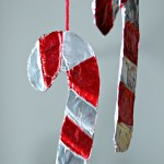 Homemade Christmas Ornaments : Shiny Candy cane