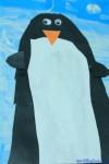 Preschool penguin craft