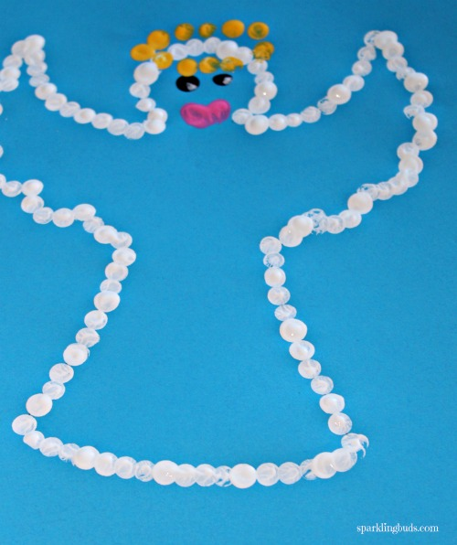Christmas Painting Ideas.Christmas Crafts And Arts Christmas Angel Painting