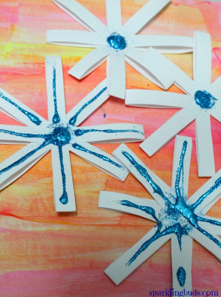 Snowflake Crafts For Kids Simple Paper Snowflakes