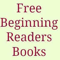 Free Beginning readers books