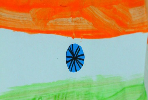 Indian flag craft ideas