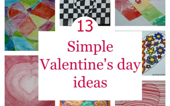Simple Valentines day craft ideas for kids