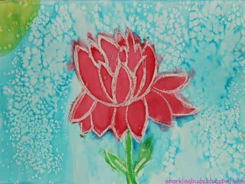 Simple Watercolor Flowers Tutorial Sparklingbuds