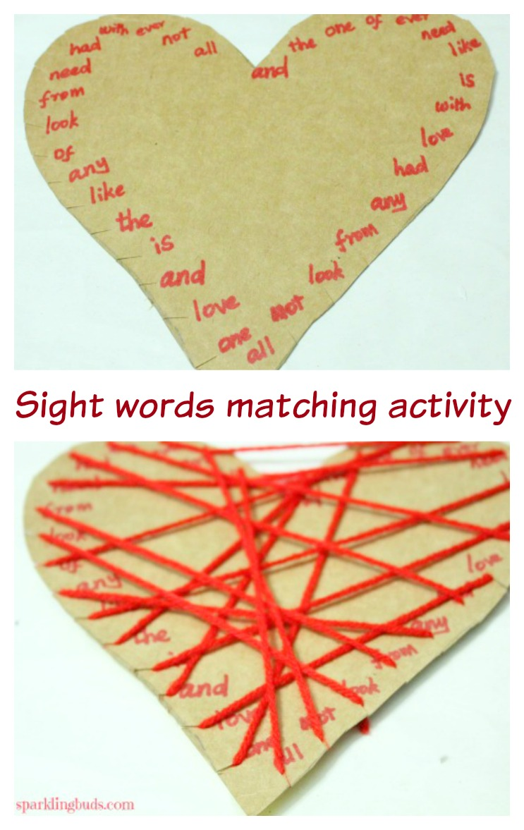 Valentine day activities for preschool