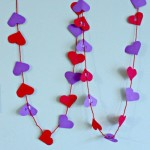 Valentine Crafts – Alphabet Heart Garland