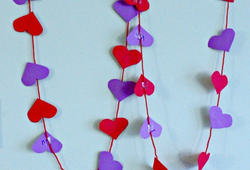 Valentine's day literacy activity for preschool