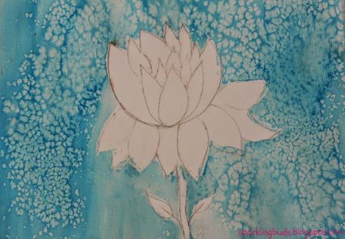 Watercolor flower ideas for kids