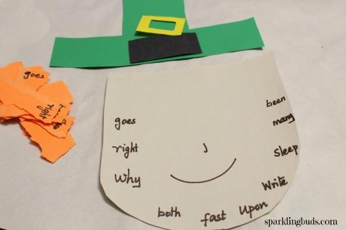 Hands on sight word activities for preschool