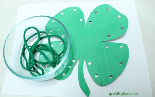 Montessori lacing activity ideas for preschool