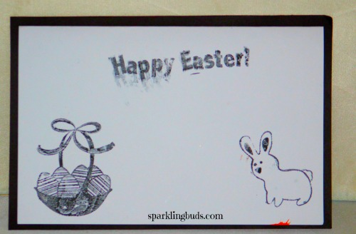 Easter card ideas for preschoolers