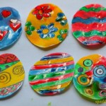 Easter art projects – Painting with Sugar