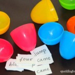 Memory game activity for preschoolers with Easter eggs
