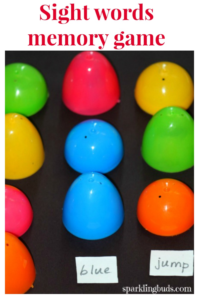 Plastic eggs Easter activities