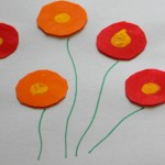 Simple flower painting ideas – Poppy flowers