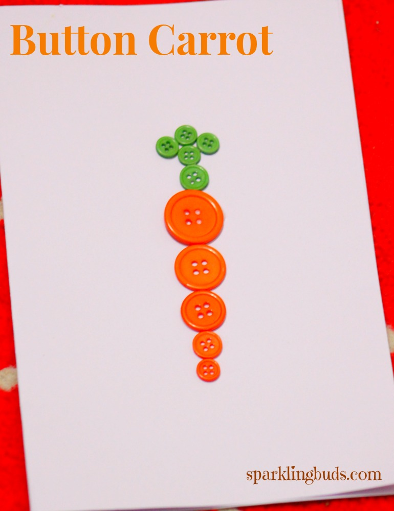 Simple carrot craft ideas for preschoolers