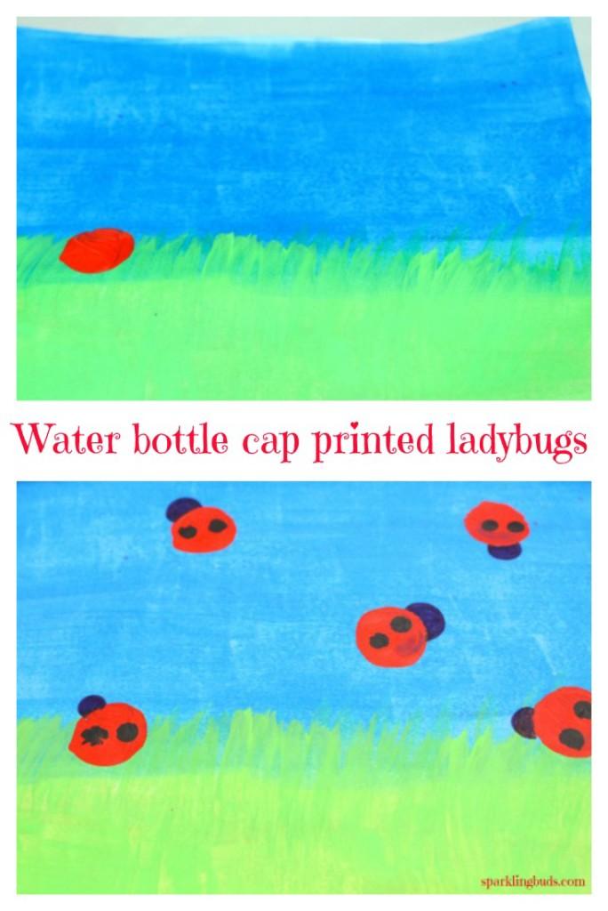 Ladybug painting ideas