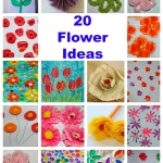 20 flower crafts ideas for kids