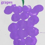 Easy fruit painting – Grape painting