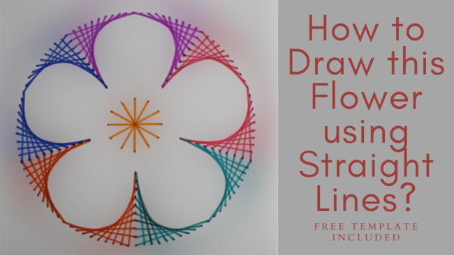 A Simple Flower Drawing Idea Free Template Sparklingbuds